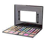 78 Paleta de Sombras de Ojos Seco / Brillo / Mineral Paleta de sombra de ojos Polvo GrandeMaquillaje de Diario / Maquillaje de Hada /