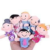 Juguetes Figuras de Acción y Peluches Marioneta de Dedo Juguetes Encantador Hobbies de Tiempo Libre Para Chicos Para Chicas Tejido