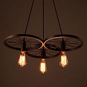 Lámparas Araña ,  Rústico/Campestre Cosecha Pintura Característica for Mini Estilo MetalSala de estar Dormitorio Comedor Habitación de