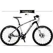 Bicicleta de Montaña Ciclismo 30 Velocidad 27,5 pulgadas SHIMANO M610 Doble Disco de Freno Horquilla de Suspensión por Aire Cuadro