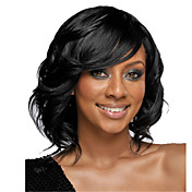 Mujer Pelucas de Cabello Natural Cabello humano Encaje Completo Encaje Frontal 120% 130% 150% 180% Densidad Ondulado Peluca Negro