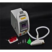 1064 532nm interruptor q yag láser de eliminación de tatuajes de cejas pigmentación limpiador de máquina de belleza cuidado de la piel