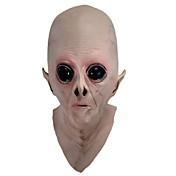 la cara de silicona miedo máscara alienígenas parte terrestre y látex de caucho de terror máscaras completas UFO adicionales para el