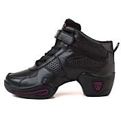 Zapatos de baile(Negro / Rosa) -Zapatillas de Baile-Personalizables-Tacón Bajo