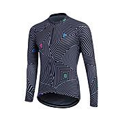 Camisa para Ciclismo Homens Manga Longa Moto Blusas Térmico/Quente A Prova de Vento Tosão Clássico Inverno Ciclismo/Moto Preto Cinzento