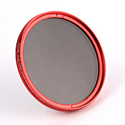 fotga® 82mm cámara atenuador variable de filtro ND de densidad neutra ND8 ND2 a ND400 roja
