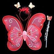 / Juguetes Novedosos Mariposa Plástico / Tejido / Goma Rojo / Azul / Rosa Niños / Chica