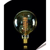 Lámpara de BofA G125 13ak 25w antigua Edison bola burbuja de seda (85v-265v)