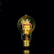 BofA A19 25w lámpara antigua Edison bola burbuja de seda (85v-265v)