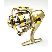 Carretes para pesca spinning 5.2:1 13 Rodamientos de bolas Intercambiable Pesca de Mar Pesca de agua dulce-DC150
