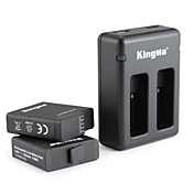 KingMa® Charger batería For GoPro Hero 5 Submarinismo Bicicleta