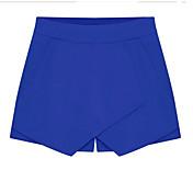2014 nuevas mujeres del verano&# 39; s del color de caramelo delante cruz pieza pantalones casuales pantalones cortos de verano