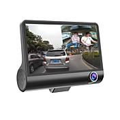 HD DVR coche cámara del coche 1080p grabador de tablero de levas sensor g registrator vídeo 3 lente de visión DVR videocámara wdr auto de