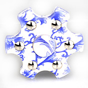 Fidget spinners Hilandero de mano Juguetes Six Spinner ABS Plástico EDCAlivio del estrés y la ansiedad Juguetes de oficina Por matar el