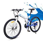 Bicicleta de Montaña Bicicletas plegables Ciclismo 24 Velocidad 26 pulgadas/700CC YINXING Doble Disco de Freno Horquilla de suspención
