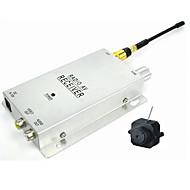 micro récepteur sans fil caméra couleur sténopé vidéo + (sfa825)