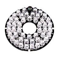 48 infrarouge dirigé illuminateur plaque de bord pour caméra de sécurité CCTV 3.6mm lentille