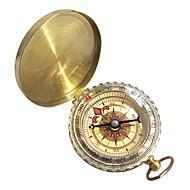 Iránytűk Túrázás Mászás Kemping Utazás Kompakt méret Navigáció Réz Arany db