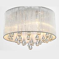luz de teto de cristal moderna maishang® 4 luzes
