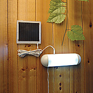 5-LED Vnitřní Venkovní bílé světlo LED Solární panely Zahrada Spínač lampy Bouda Yard světlo