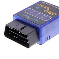 Mini Bluetooth V1.5 ELM327 OBDII ELM 327 OBD2 protocolos Auto ferramenta de diagnóstico