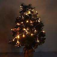 4M 3W אור הלבן חם LED רצועת אור 40-LED 210LM לקישוטי חג המולד