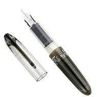 Leuke Twee zwarte inktcartridge Pen Verwisselbare Capsule (Zwart)