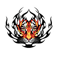 Φωτιά Tiger Pattern Διακοσμητικά αυτοκόλλητο αυτοκινήτου