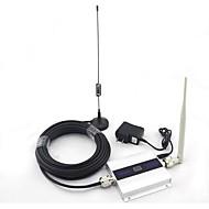 affichage LCD mini-dcs d'antenne signal d'amplificateur de signal de téléphone 1800MHz mobile répéteur ventouse avec câble de 10m 2G 3G 4G