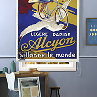 1930'S French Cycle Advertising Poster Roller Shade