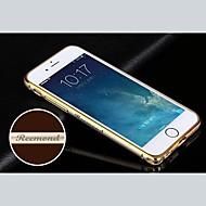 εξατομικευμένες χαραγμένο εξαίσια χρυσό-δεμένη μεταλλικό κέλυφος πλαίσιο προφυλακτήρα για το 4,7 ιντσών iPhone 6 (χρυσό, ασημί, μαύρο, ροζ)