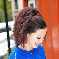 Extensions de cheveux humains Synthétique 100 15 Extension des cheveux
