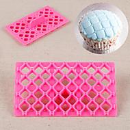 butterfly bow bowknot quilt fondant firkantet cutter gitter kake cupcake preging verktøy punkt