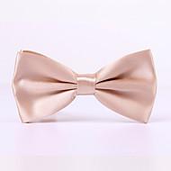 Pure Color Bow Tie Marriage