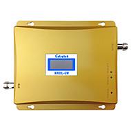 bi-bande GSM téléphone portable umts écran de rappel lcd de signal 3G répéteur de 900mhz 2100MHz WCDMA amplificateur de signal 3G