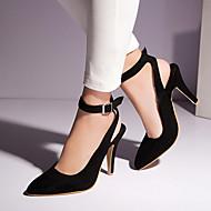 Women's Shoes Heel Heels / Pointed Toe Heels Office & Career / Dress / Casual Black / Blue / Burgundy