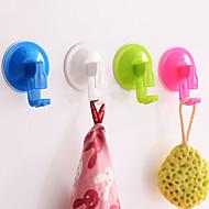 sterke vacuüm keuken haken badkamer verwijderbare zuignap muurhanger (willekeurige kleur)