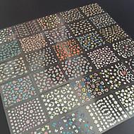 30 - 6.5X5X0.5 - Más - Virág/Absztrakt - Ujj/Toe - 3D-s körömmatricák