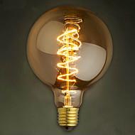 E27 40W G125 vezeték bár buborék sárkány Edison retro dekoratív lámpaspirál