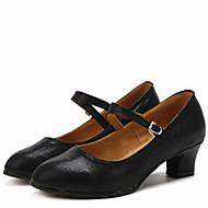 Dansesko(Sort Rød Sølv Guld) -Kan ikke tilpasses-Lave hæle-Damer-Moderne Ballet