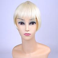 ty.hermenlisa clip bang cheveux chaleur synthétique frange cheveux de fibre résistante extensions postiches, 1 pc, 20g