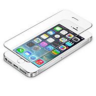 0.3mm karkaistua lasia näytön suojus, jossa mikrokuituliina iphone 5 / 5s / 5c