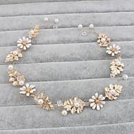 f7f75ad616e Napodobenina perel Čelenky   Doplňky do vlasů s Květiny 1ks Svatební    Zvláštní příležitosti   Ležérní Přílba