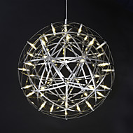 Riipus valot ,  Moderni Galvanoitu Ominaisuus for LED Metalli Living Room Makuuhuone Ruokailuhuone