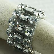 12 Acrylic Pyöreä Napkin Ring Taulukko Dceoration