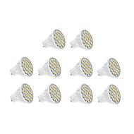 5w gu10 led spotlight 18 smd 5630 400 lm varm hvid / kølig hvid ac 220-240 v 10 stk