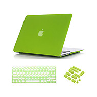"""3 em 1 areia movediça caso fosco corpo inteiro com tampa do teclado e ficha de poeira para o ar macbook 13 """""""