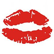 lábios sensuaisadesivo para carro