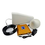 Ecran LCD GSM 900MHz DCS 1800MHz téléphone mobile amplificateur de signal d'antenne log périodique antenne / plafond avec câble