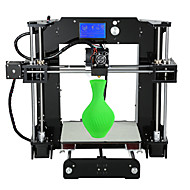 anet a6 novo desktop versão fdm diy impressora 3D (tensão adjustbale / instruções de montagem em cartão SD)
